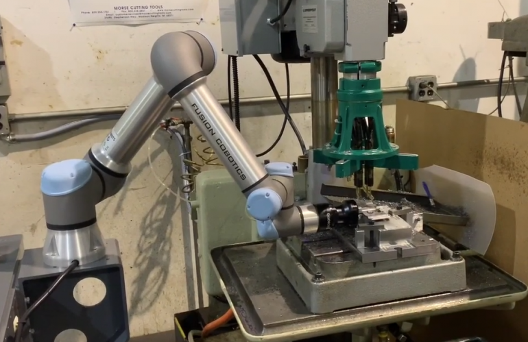 Video of Cobot in Action - Video 3