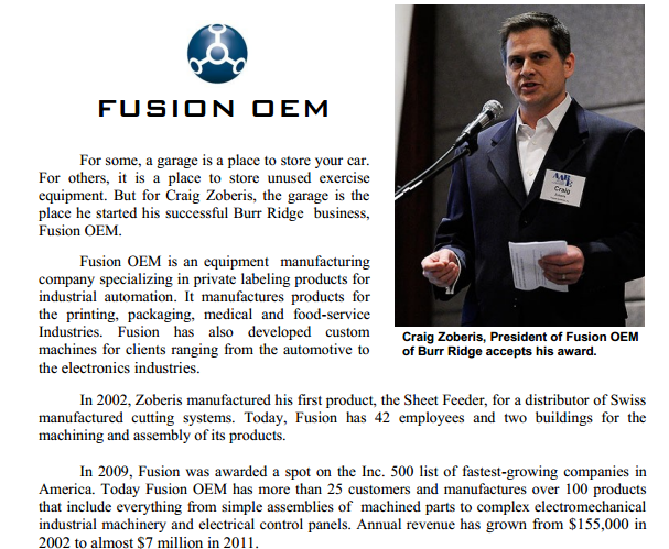 Daily Herald Awards Fusion Best Place to Work in Illinois for the Second Year in a Row