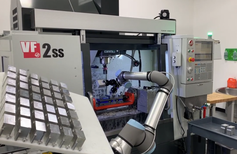 Video of Cobot in Action - Video 2