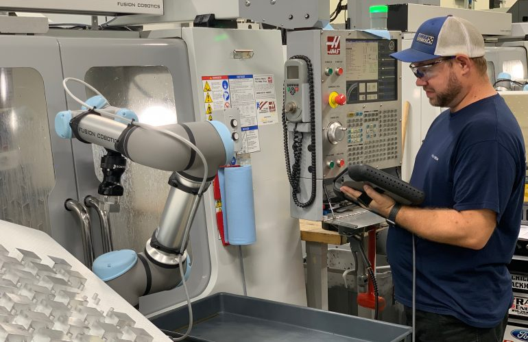 Bringing Back the 40-Hour Workweek with Cobots