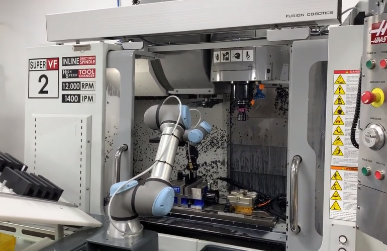 Video of Cobot in Action - Video 1