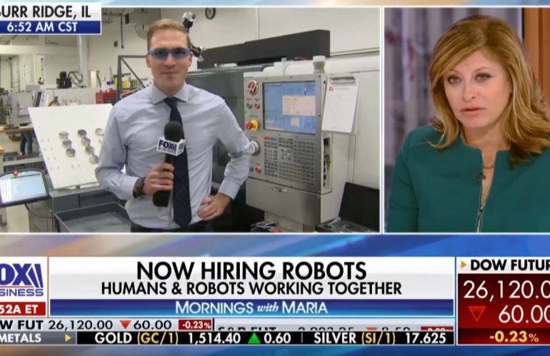 Fox Business Network Live From Fusion Headquarters