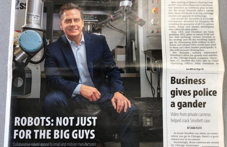 Crain's Chicago Business Features Fusion