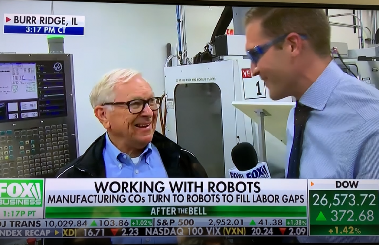 Fusion's Cobot Customer Speaks About Improvements with Automation to Fox News