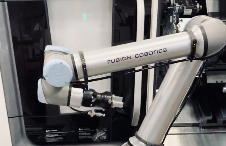 Fusion Delivers Cobot Within TWO Days of Order!